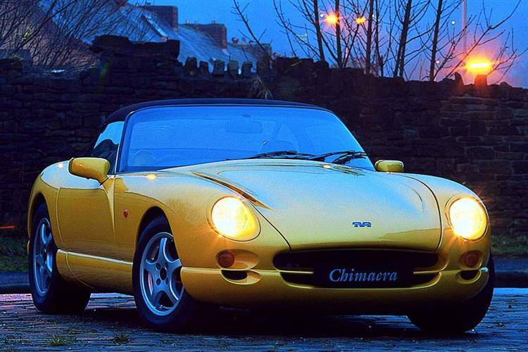 TVR Chimaera (1993 - 2005) used car review review | Car review ...