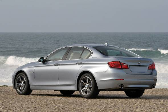 BMW 5 Series ACTIVEHYBRID5 (2013 - 2015) review