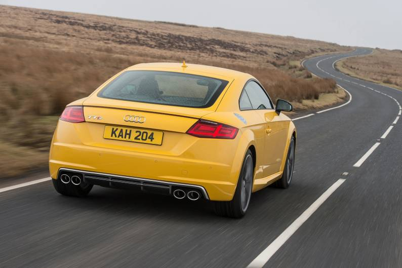 Audi TTS quattro Coupe review