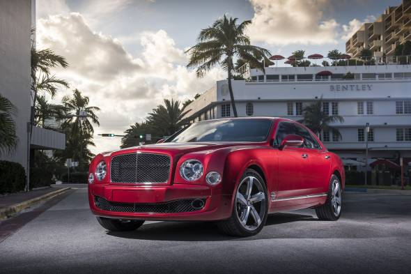 Bentley Mulsanne Speed review