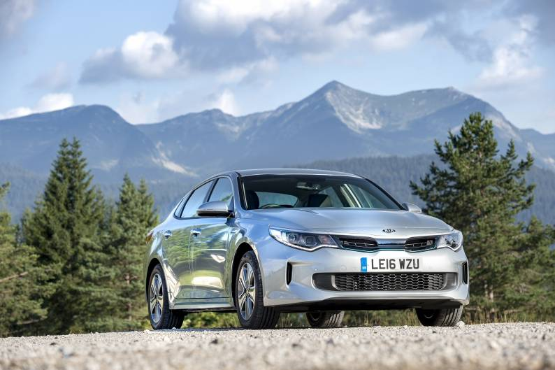 Kia Optima PHEV review