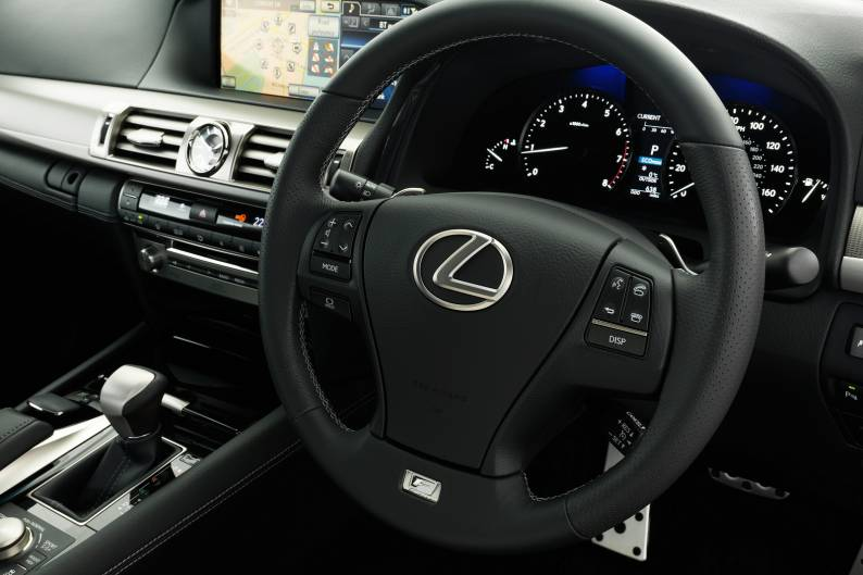 Lexus LS 460 F Sport review