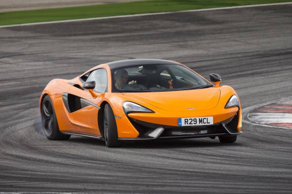 McLaren 570S Coupe review