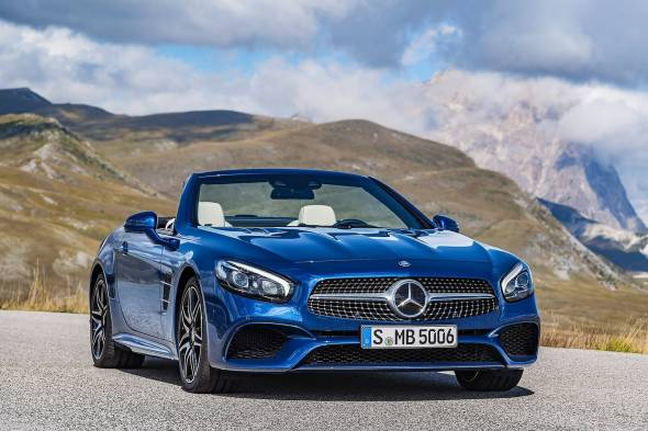 Mercedes-Benz SL400 review