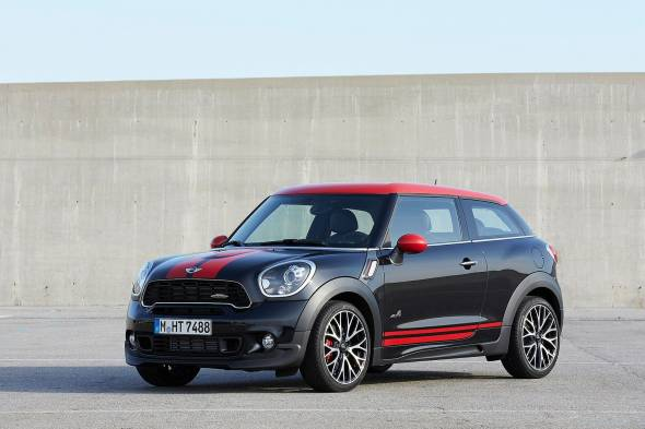 MINI Paceman JCW review
