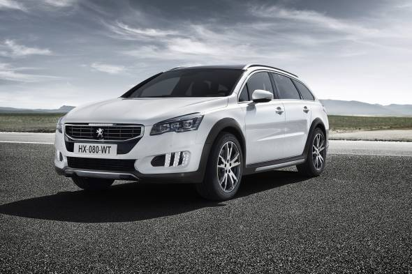 Peugeot 508 RXH review