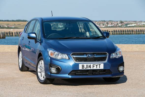 Subaru Impreza 1.6i RC review