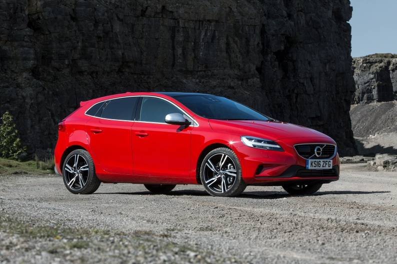 volvo v40 t2 review car review rac drive. Black Bedroom Furniture Sets. Home Design Ideas