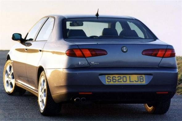 Alfa Romeo 166 (1999 - 2005) used car review