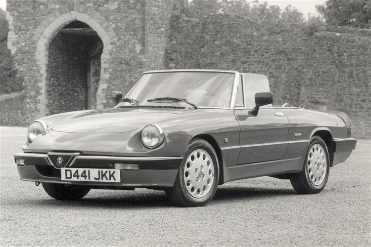 Alfa Romeo Spider (1966 - 1993) used car review