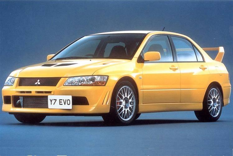 mitsubishi lancer evo vii 2001 2003 used car review - Mitsubishi Evo 7 Interior