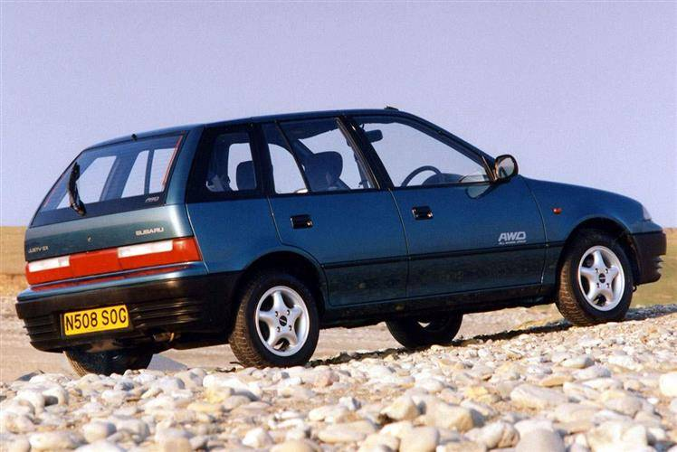 Subaru Justy (1996 - 2002) used car review