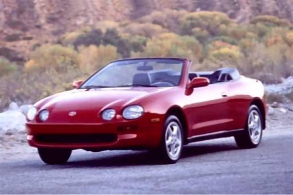 Toyota Celica Cabriolet (1994 - 1999) used car review