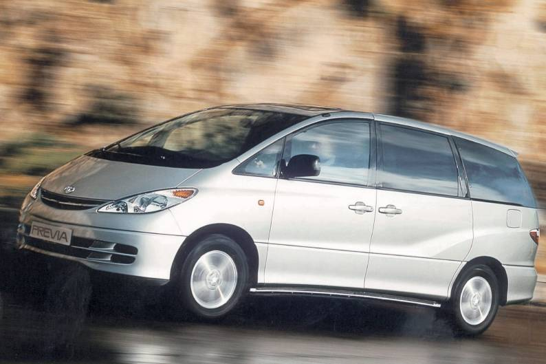 Toyota Previa (1990 - 2000) used car review