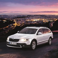 New Skoda Superb ready for action