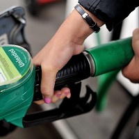 Petrol on sale for under a pound