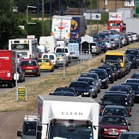 Devices help drivers skirt jams