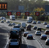 2,000 stop illegally on hard shoulder