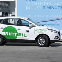 Hydrogen fleet cars come to Europe