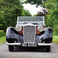 Actress Lockwood's 1938 car on sale