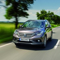 CR-V goes on sale for £22,800-plus