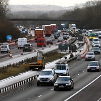 M25 works hit Bank Holiday travel