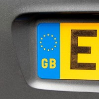 England car plate sold for £15,600