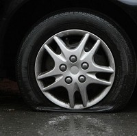 UK drivers not ready for flat tyres