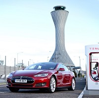 First Scottish charger for Tesla