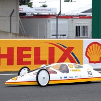 Prototype car achieves long distance feat