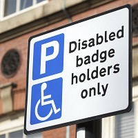 Surge in blue parking badge theft