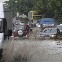 Flash flooding causes road chaos