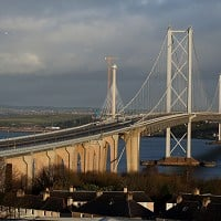 January reopening set for Forth Road Bridge