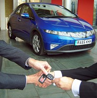 Drivers using dealer finance to buy