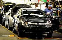 Car manufacturing shows upbeat signs