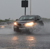 RAC urges caution as rain batters UK