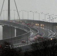 Drivers warned to expect more 60mph gusts