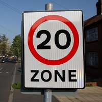 20mph zones 'cut road accidents'