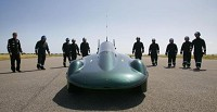 Steam car team targets speed record