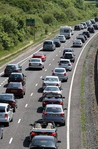 Recession has 'reduced' congestion