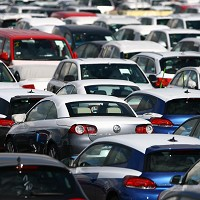 Car market fall 'smallest in year'