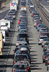 Traffic wastes 'millions' of hours
