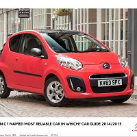 Citroen C1 proves a reliable friend