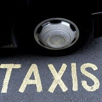 Traffic jams due as cabbies protest