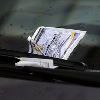 Selfish parker gets own personalised ticket