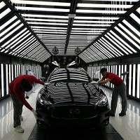 UK motor manufacturing hits 10-year high