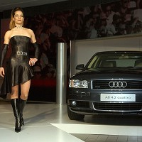 New generation Audi A8 in UK launch