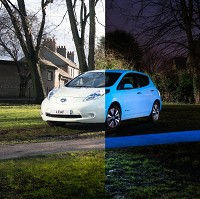 Leaf gets glow in the dark makeover