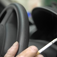 Car smoking ban being considered