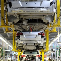 Big rise in July car production